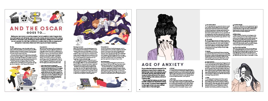 Teen Breathe Issue 10 spreads