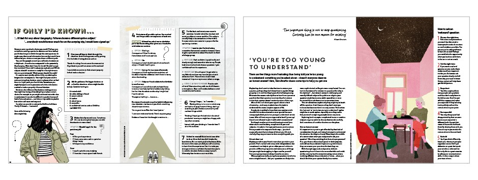 Teen Breathe Issue 11 spreads